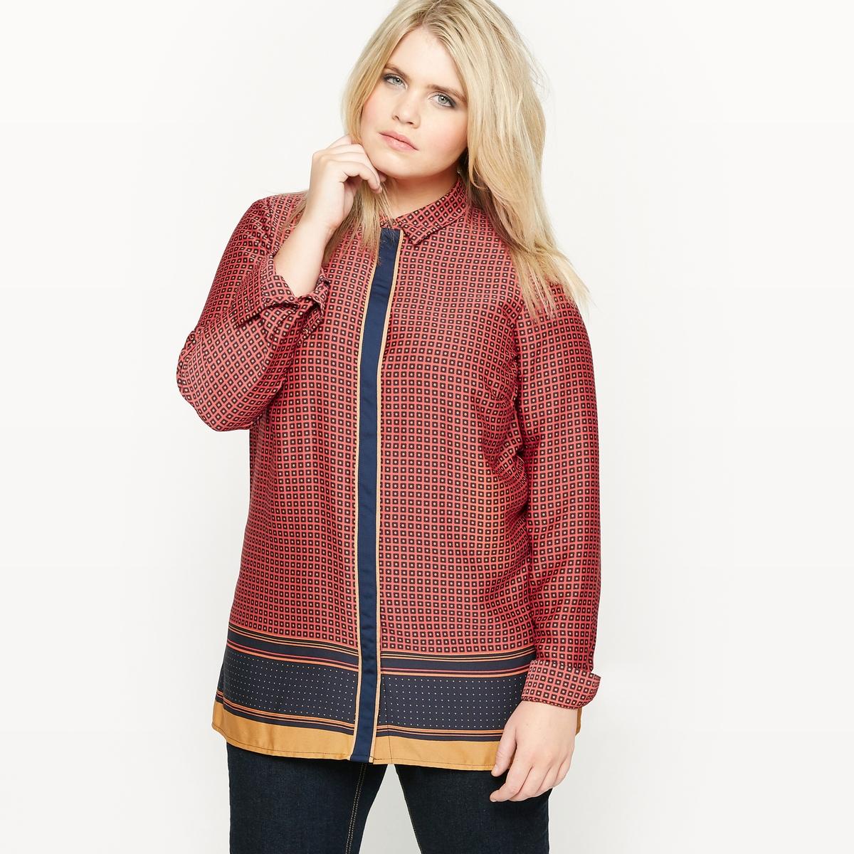 Блузка с рисунком с длинными рукавами regatta блузка с длинными рукавами