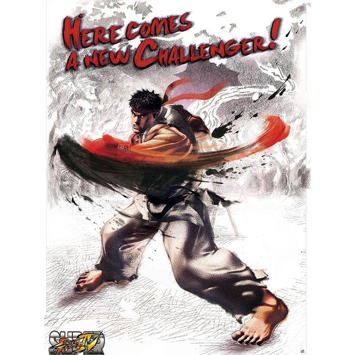 Poster Street Fighter 52 x 38 cm