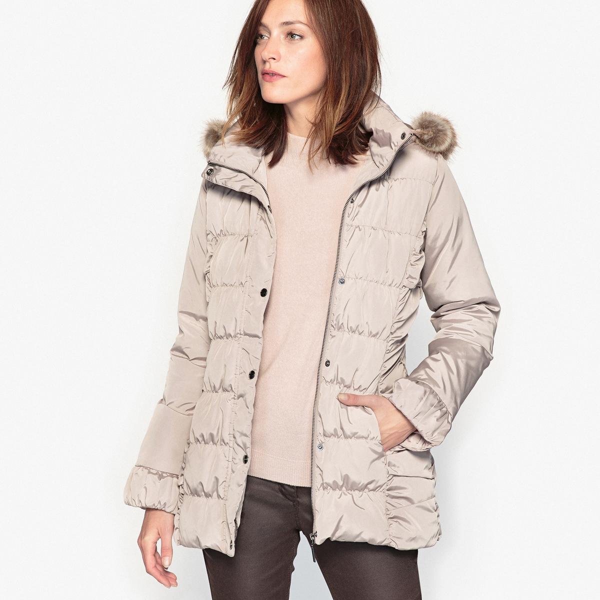 Куртка стеганая с натуральным пухом и пропиткой тефлон