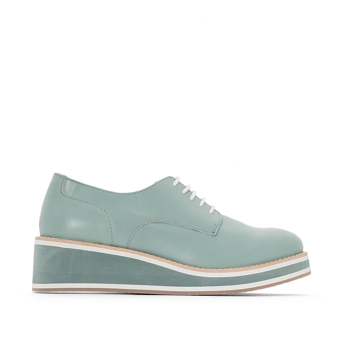 Ботинки-дерби кожаные ducray легкий отбеливающий крем spf 15 меласкрин 40 мл