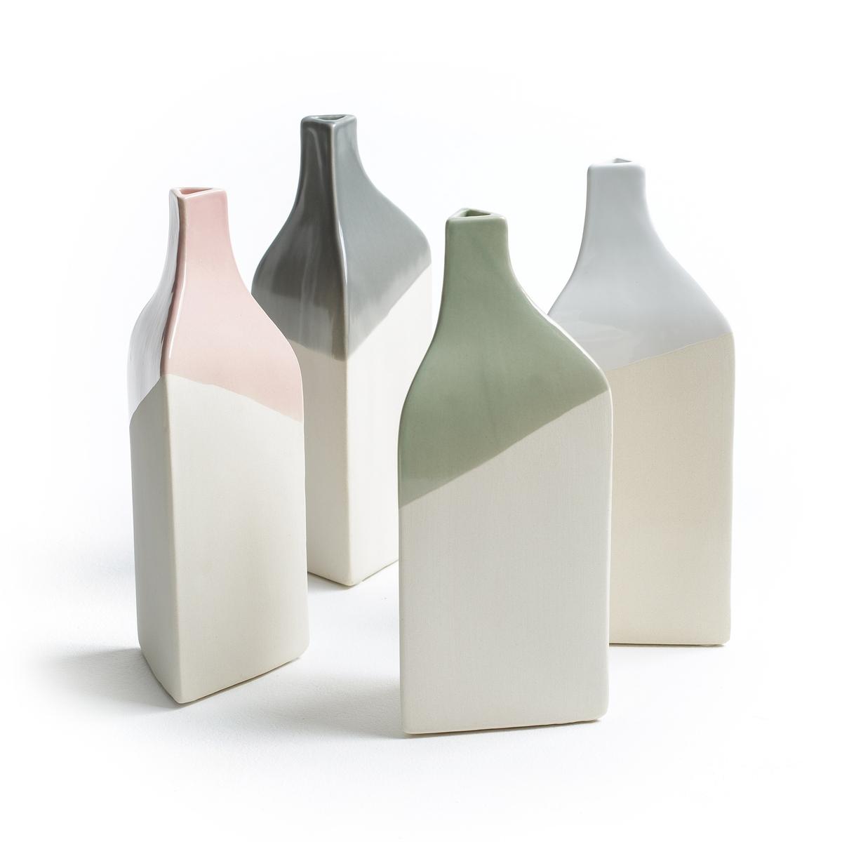 Бутылка декоративная, высота 23 см, AZILAОписание: Оригинальный дизайн, мягкие и романтические цвета, декоративная бутылка Azila от Serax отлично добавляет скандинавского стиля.Характеристики декоративной бутылки Azila :Из керамики, верх покрыт глазурью.Не наполнять водой.Другие предметы декора вы можете найти на  laredoute.ruРазмеры декоративной бутылки Azila :23 x 9,5 x 9,5 см<br><br>Цвет: розовый<br>Размер: единый размер