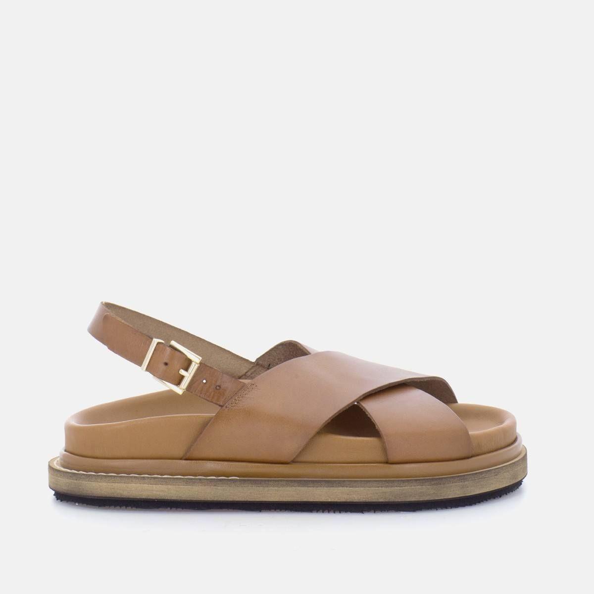 Sandales en cuir MARSHMALLOW