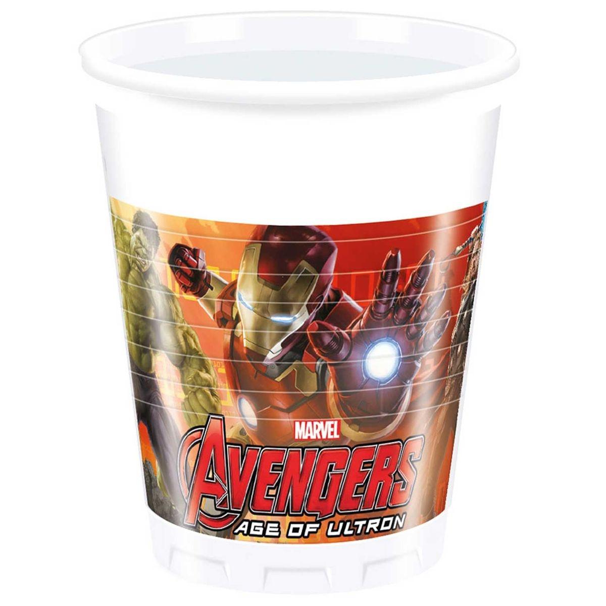 PROCOS Lot de 6 gobelets Avengers L Ère d Ultron 1a819e45fea5