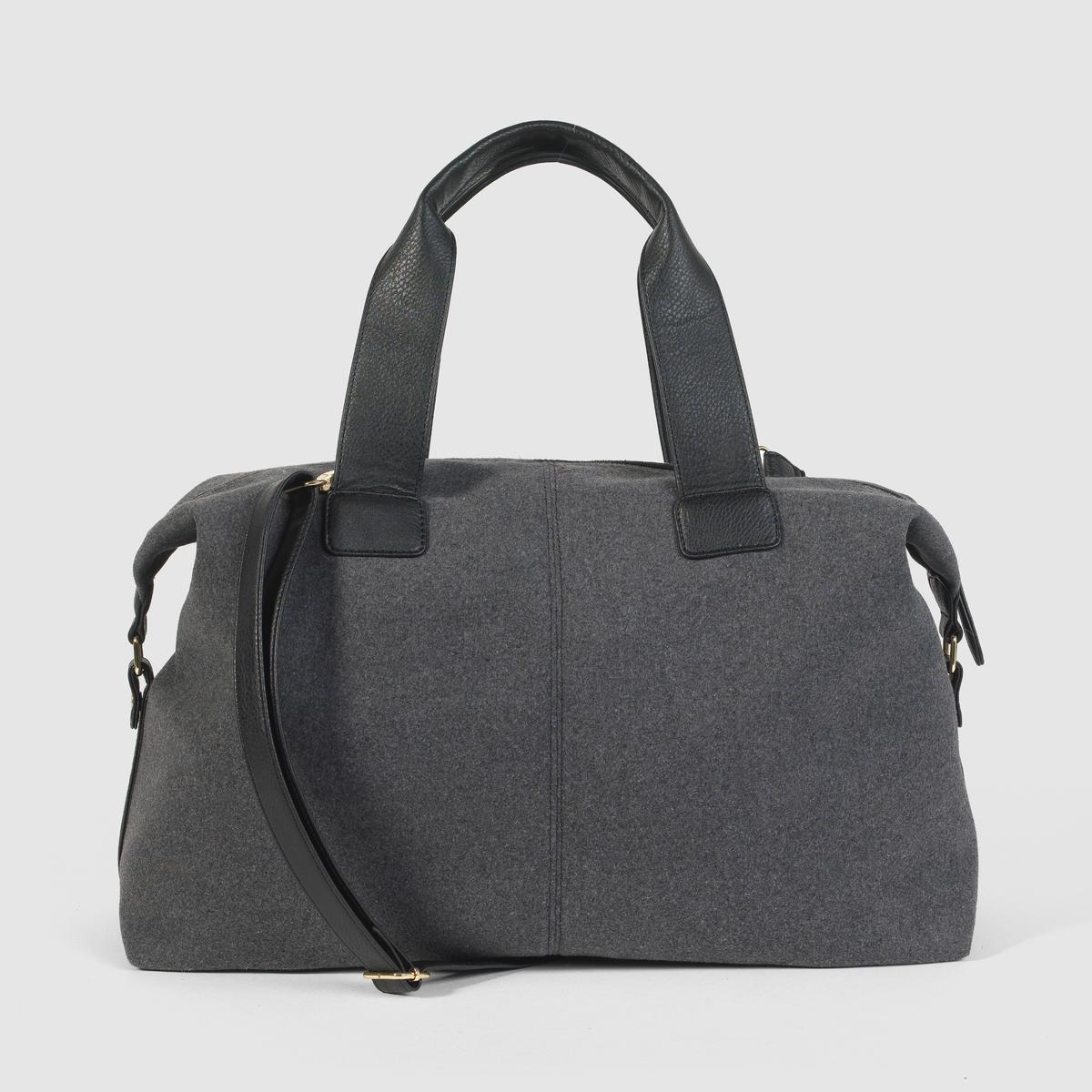 Сумка на молнииПреимущества : идеальная сумка для воскресных прогулок.<br><br>Цвет: серый