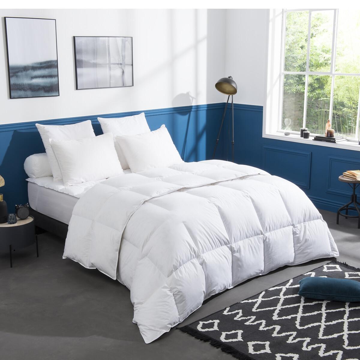 Одеяло La Redoute пуха гм с обработкой Proneem 260 x 240 см белый