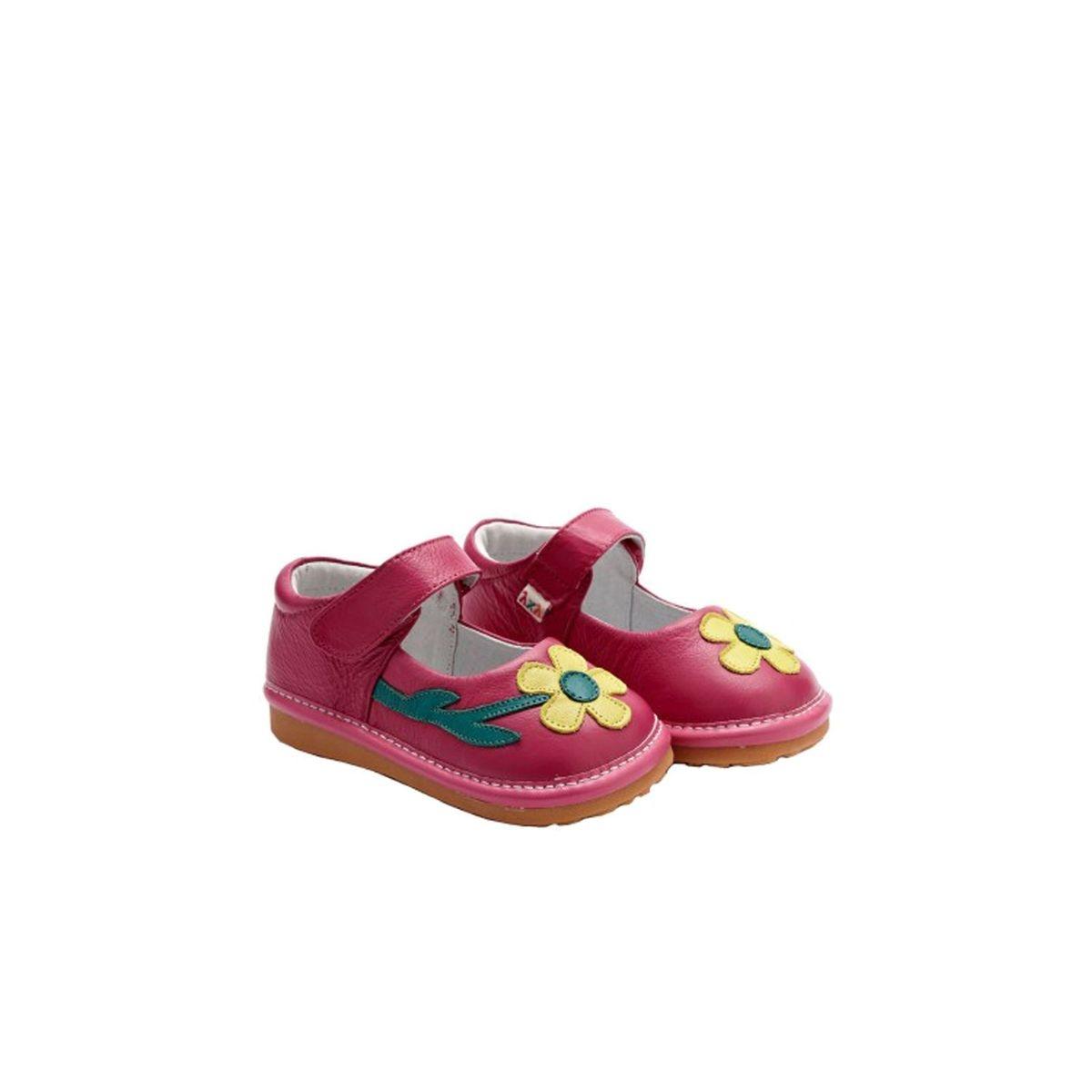 Chaussures semelle souple Babies à fleur