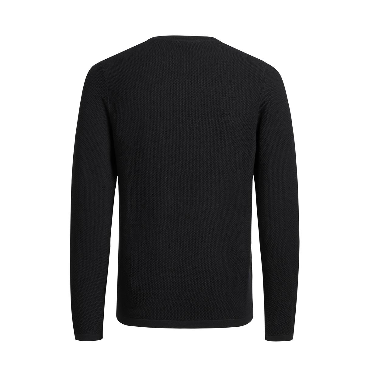 Пуловер из плотного трикотажа с круглым вырезомДетали •  Длинные рукава •  Круглый вырез •  Плотный трикотаж  •  Рисунок тай-энд-дай Состав и уход •  100% хлопок •  Следуйте советам по уходу, указанным на этикетке<br><br>Цвет: серый,черный<br>Размер: XXL
