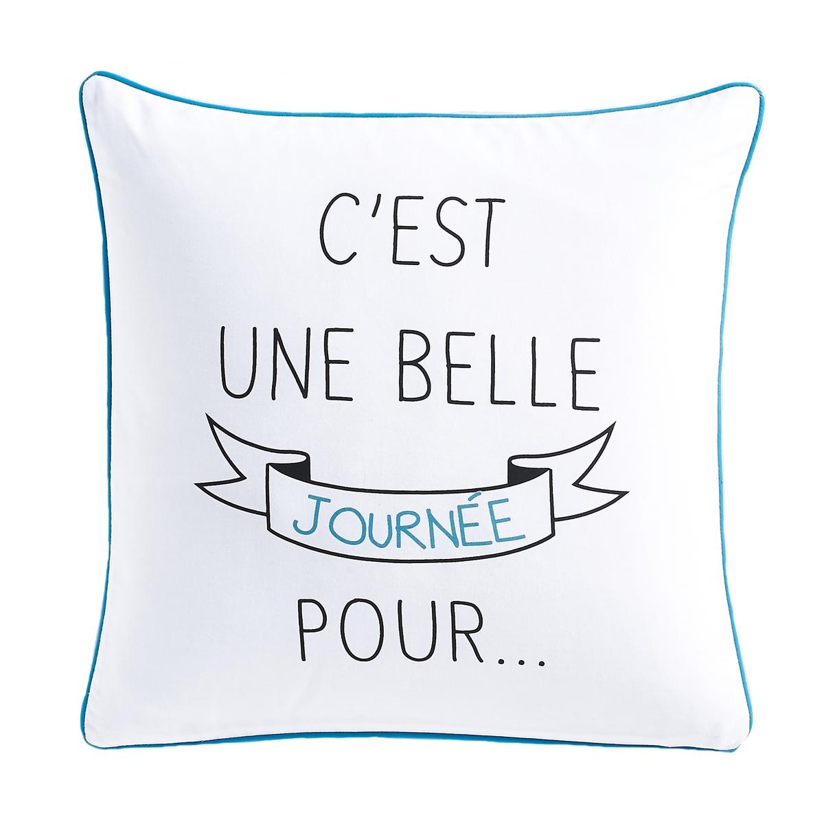 Чехол для подушки из перкали с рисунком, Belle Journee