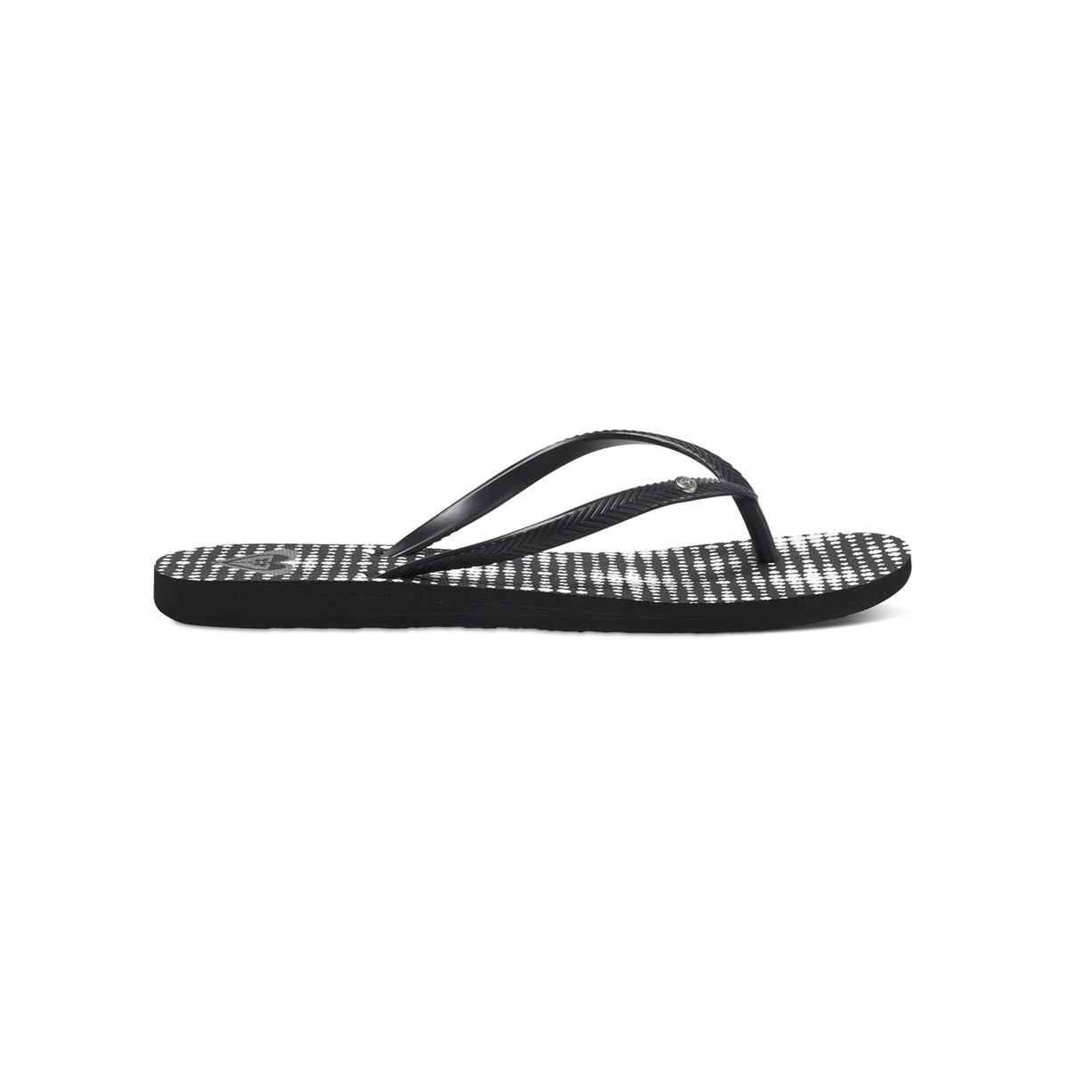 Вьетнамки BermudaВерх : синтетика   Подошва : каучук   Форма каблука : плоский каблук   Мысок : открытый мысок   Застежка : без застежки<br><br>Цвет: черный<br>Размер: 40
