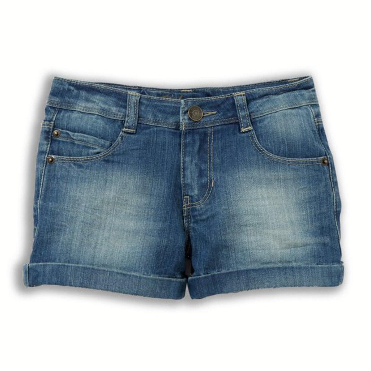 Шорты джинсовые, 3-12 лет