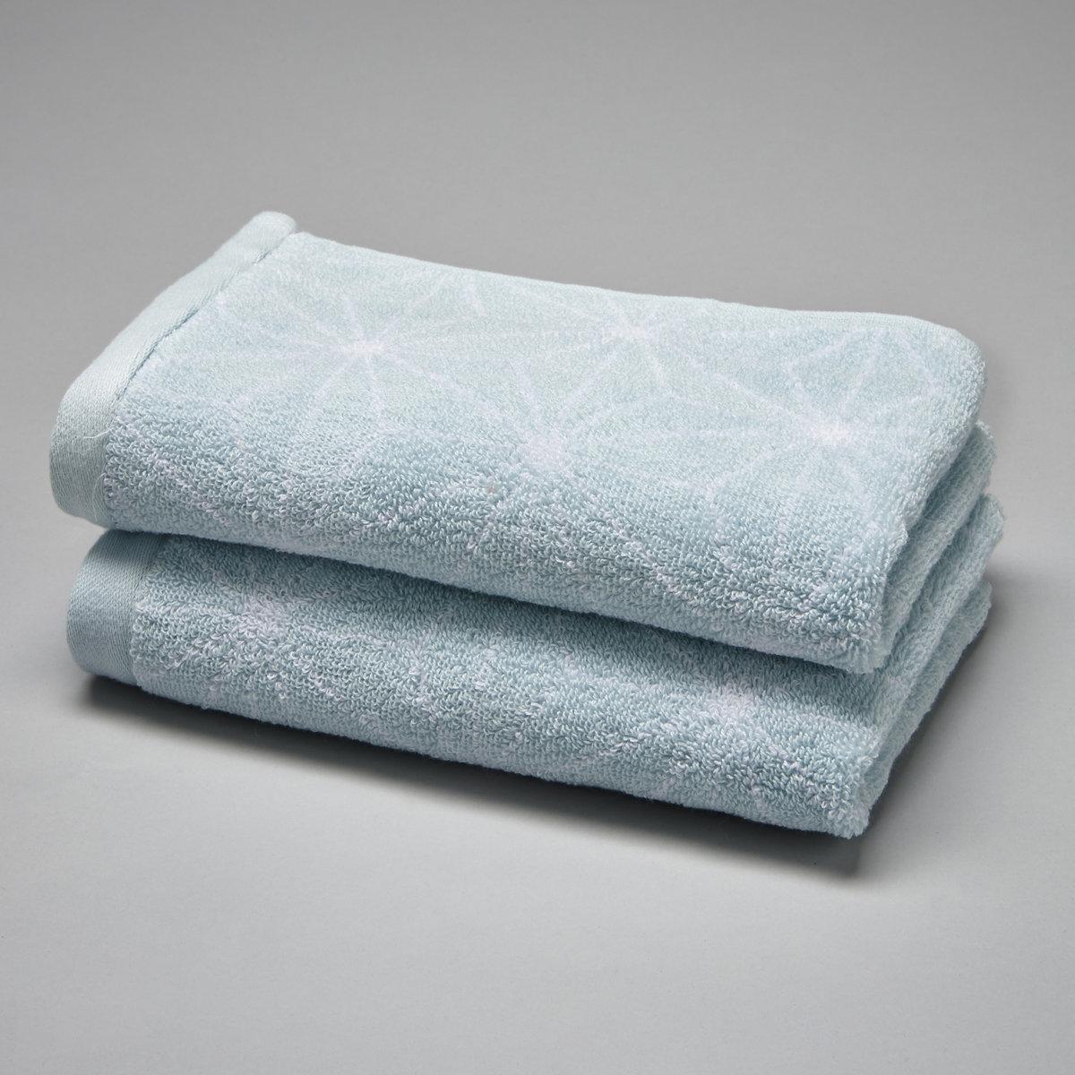 2 полотенца гостевых с рисунком в скандинавском стиле 500 г/м?