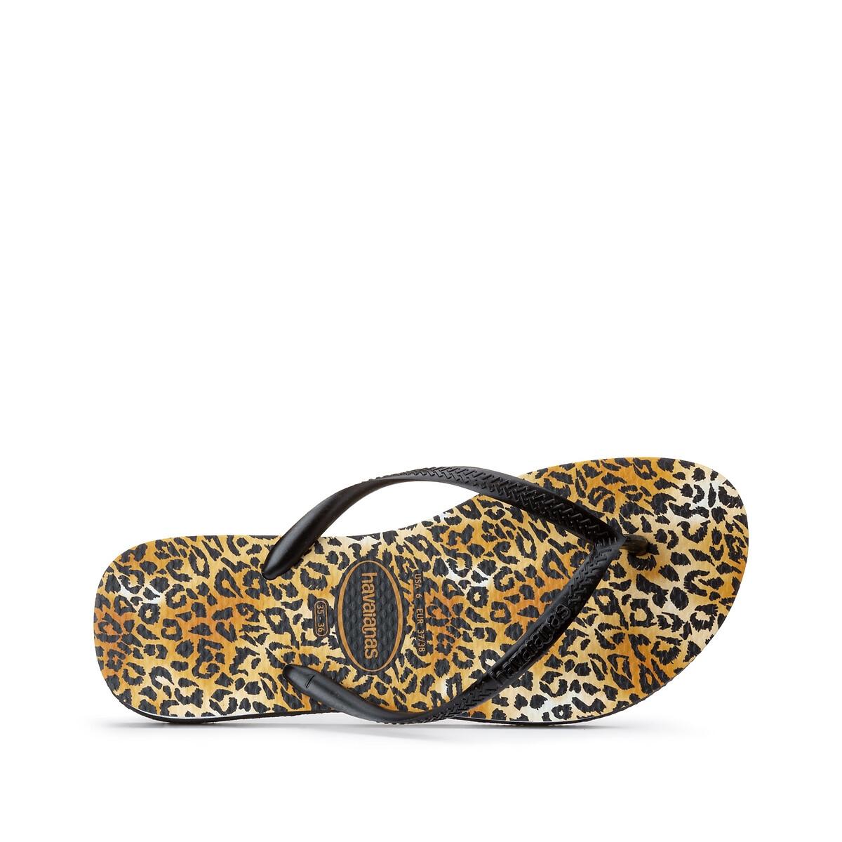 Havaianas Slim Leopard teenslippers met panterprint online kopen