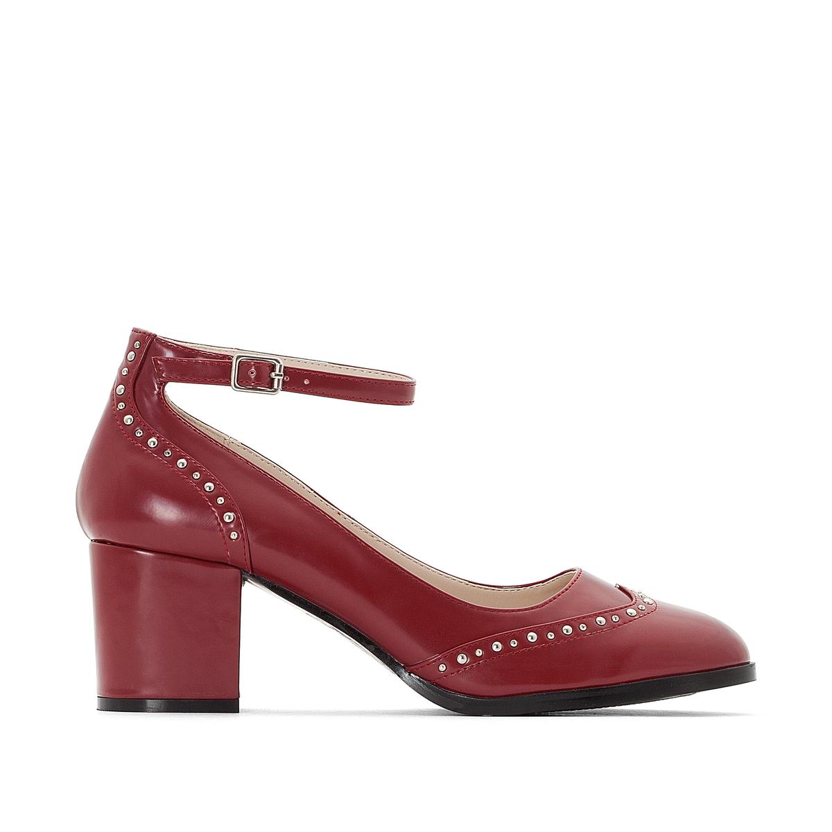 Туфли с ремешками на широкую ногу 38-45 браслет на ногу other 18k