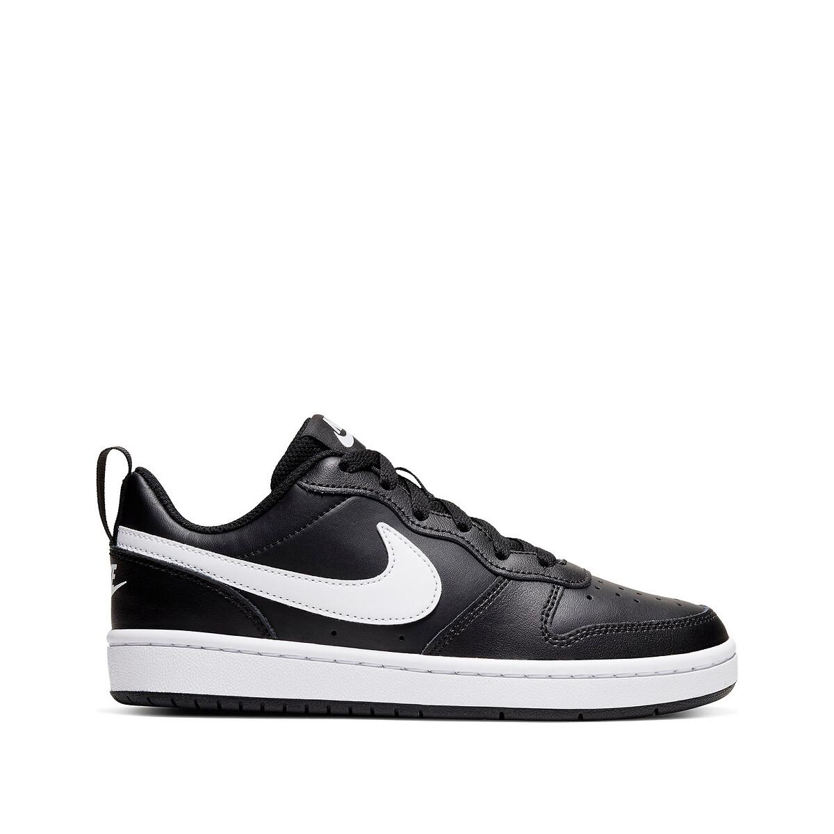 Nike Court Borough Low 2 (GS) leren sneakers zwart/wit online kopen
