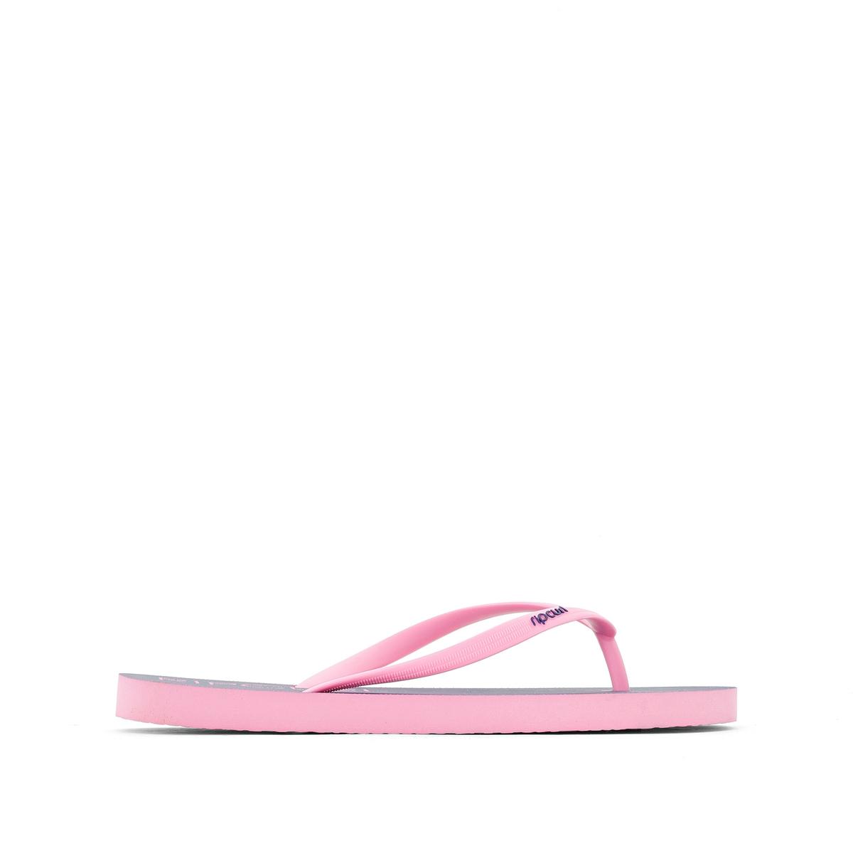 Вьетнамки BondiВерх/Голенище : каучук     Стелька : синтетика     Подошва : каучук     Форма каблука : плоский каблук     Мысок : открытый мысок     Застежка : без застежки<br><br>Цвет: розовый/ синий