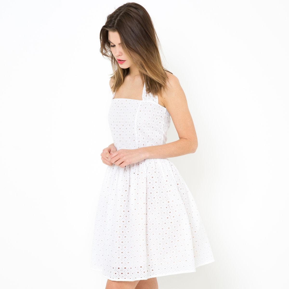 Платье из шитья с открытой спиной