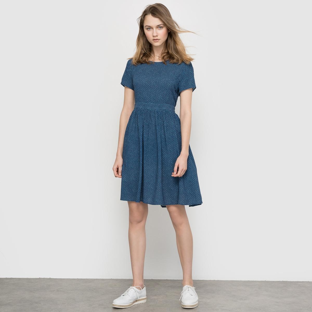 Платье с оригинальной спинкой