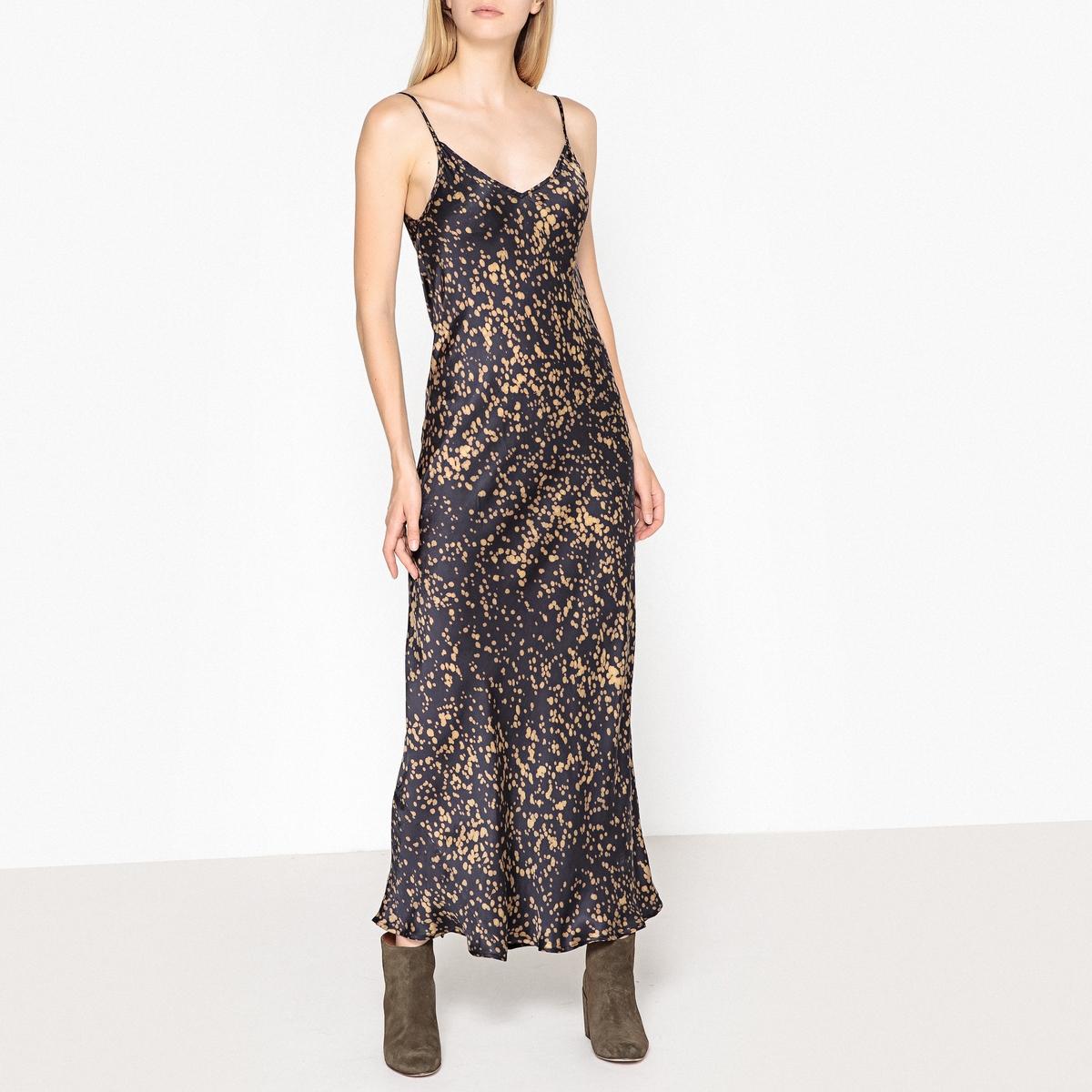 все цены на Платье длинное на бретелях GRENELLE онлайн