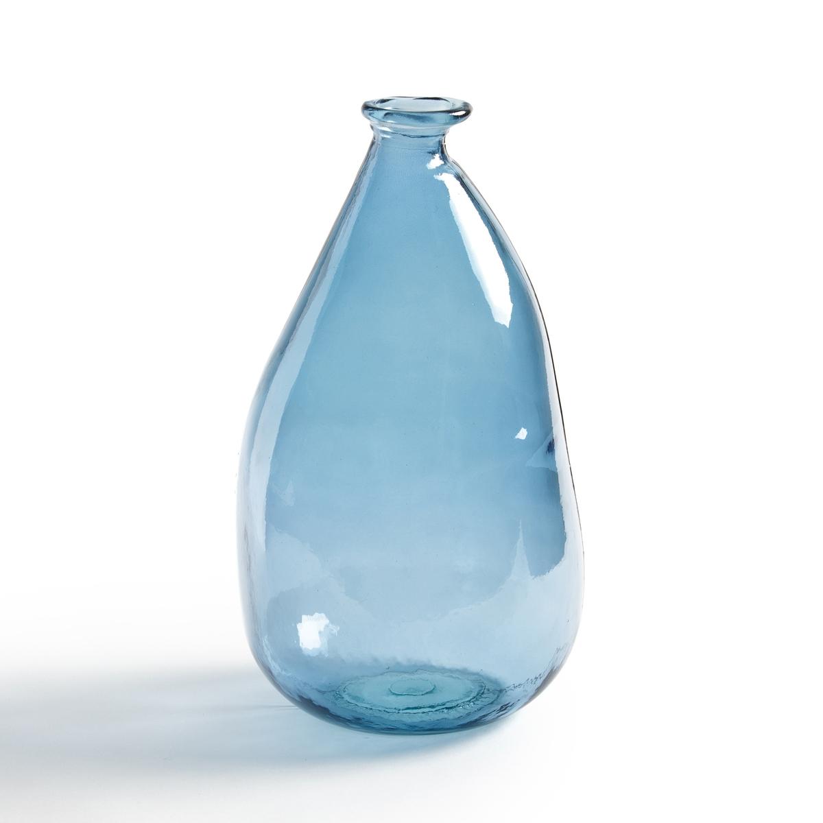 Ваза-бутыль IZOLIAНовая версия с чертами ручной работы .Внесет в ваш интерьер винтажную нотку .Характеристики вазы-бутыли Izolia :Из вторично переработанного стекла, видоизмененная форма .Размеры вазы-бутыли Izolia : - Высота : 36 см.- ? 20 см .Найдите нашу коллекцию IZOLIA а также предметы декора на нашем сайте.<br><br>Цвет: синий,стеклянный крашеный,темно-синий