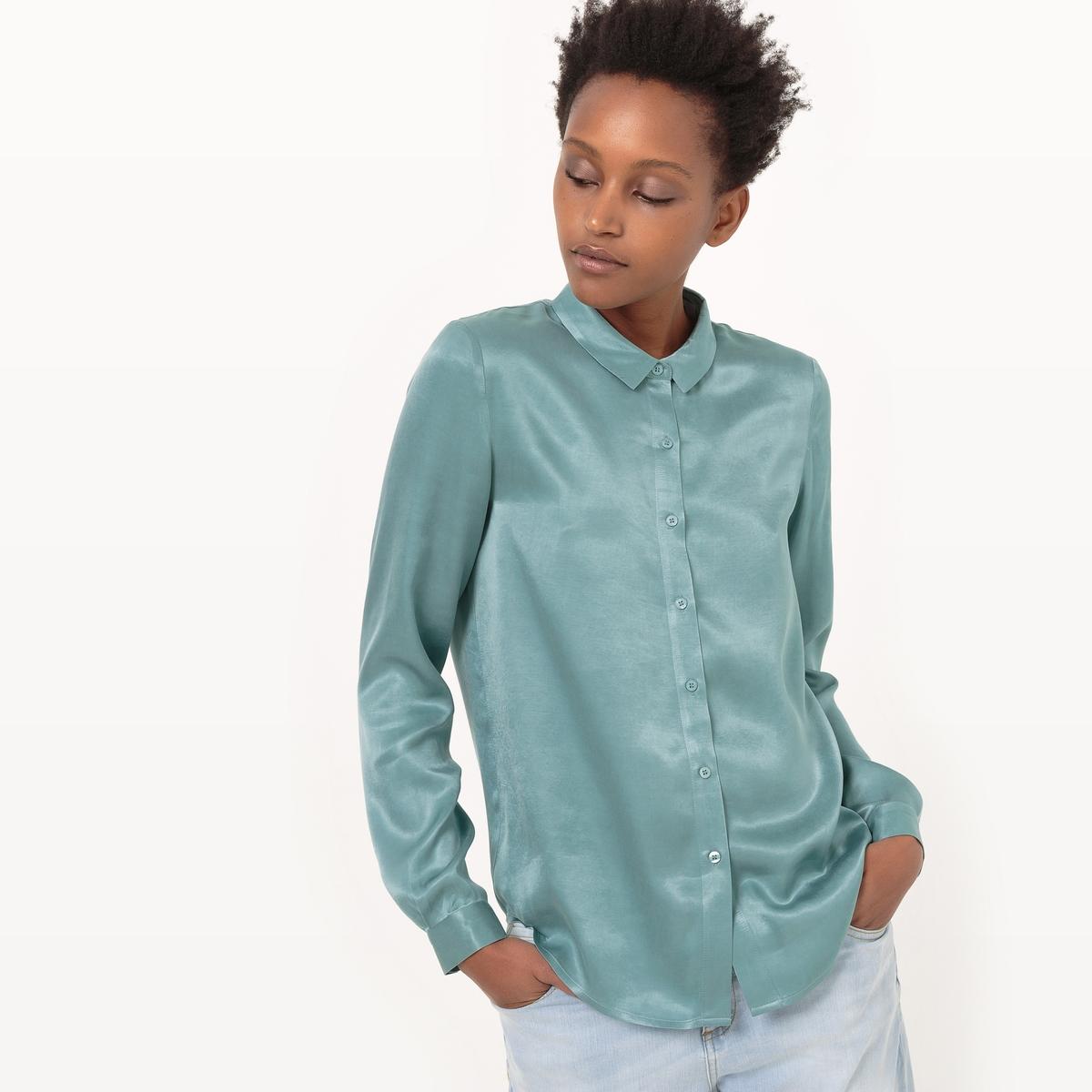 Рубашка из ткани купро
