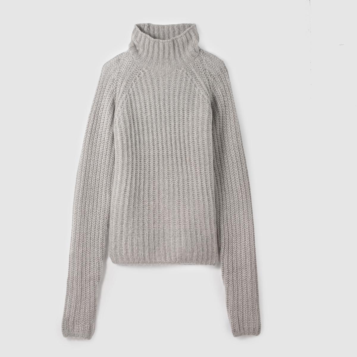 Пуловер с длинными рукавами HAZE KNITСостав и описание :Материал : 100% акрилМарка : CHEAP MONDAY.<br><br>Цвет: серый<br>Размер: L