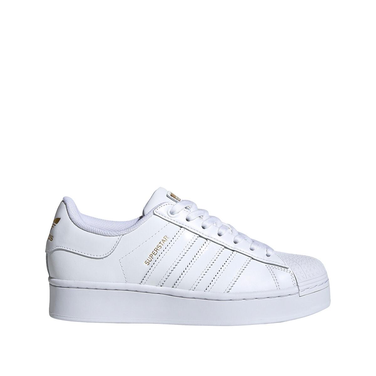 Adidas Originals Superstar Bold Dames Cloud White / Cloud White / Gold Metallic Dames online kopen