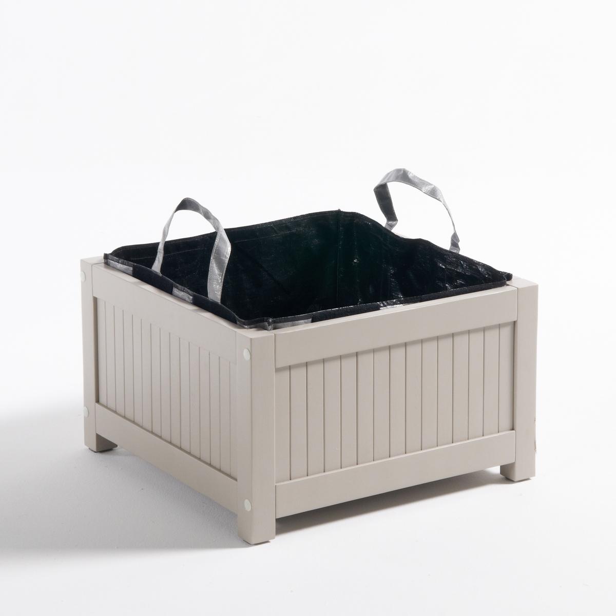 Ящик для посадки овощей из акации, MantaОписание ящика для посадки овощей из акации Manta :Акация, акриловая краска, цвет глины.Поставляется с сумкой для посадки овощей из плетеного полиэтилена.Всю коллекцию Manta вы можете найти на сайте laredoute.ruРазмеры ящика для посадки овощей :Общие размерыШирина : 50 см.Высота : 30 смДлина : 50 смВнутренние размеры. ящика :42 x 42 x 42 смРазмеры и вес упаковки :1 упаковка 64,5 x 53 x 9 см7,3 кгДоставка:<br><br>Цвет: серо-синий