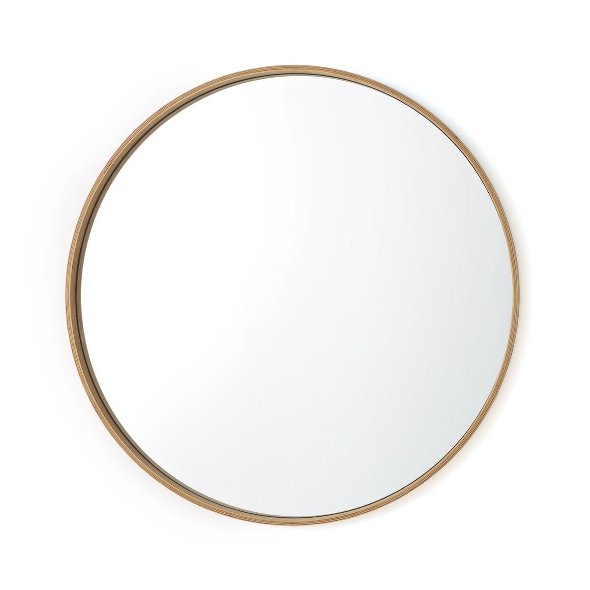 Miroir rond chêne, Alaria