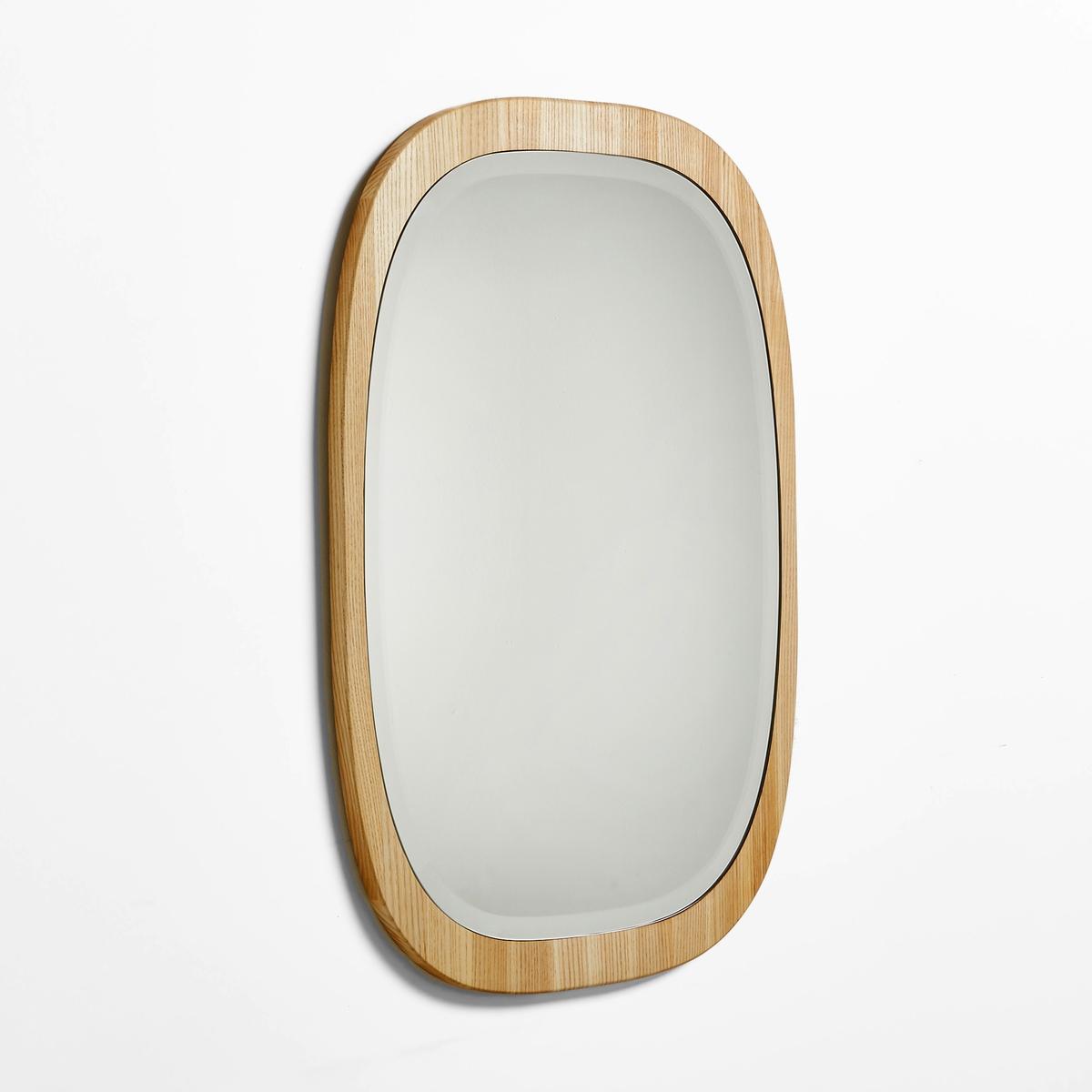 Зеркало OKANХарактеристики зеркала Okan :Зеркало из ясеня вертикального или горизонтального крепления, задняя панель из МДФ.2 пластины для каждого крепления.- Шурупы и дюбели продаются отдельно.Размеры зеркала Okan :Разм. 43 x 65 см x толщина 1,8 см. Другие зеркала вы можете найти на сайте laredoute.ru<br><br>Цвет: серо-бежевый