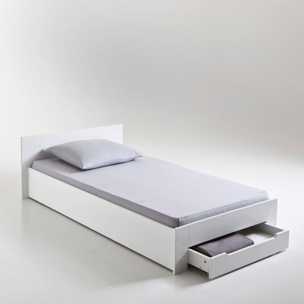 Кровать 1-спальная с сеткой и ящиком, Crawley