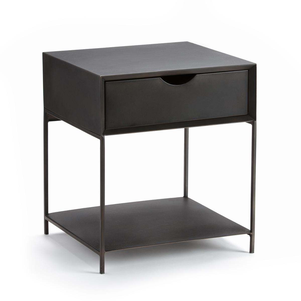Столик прикроватный из металла, Mambo столик прикроватный в винтажном стиле jimi