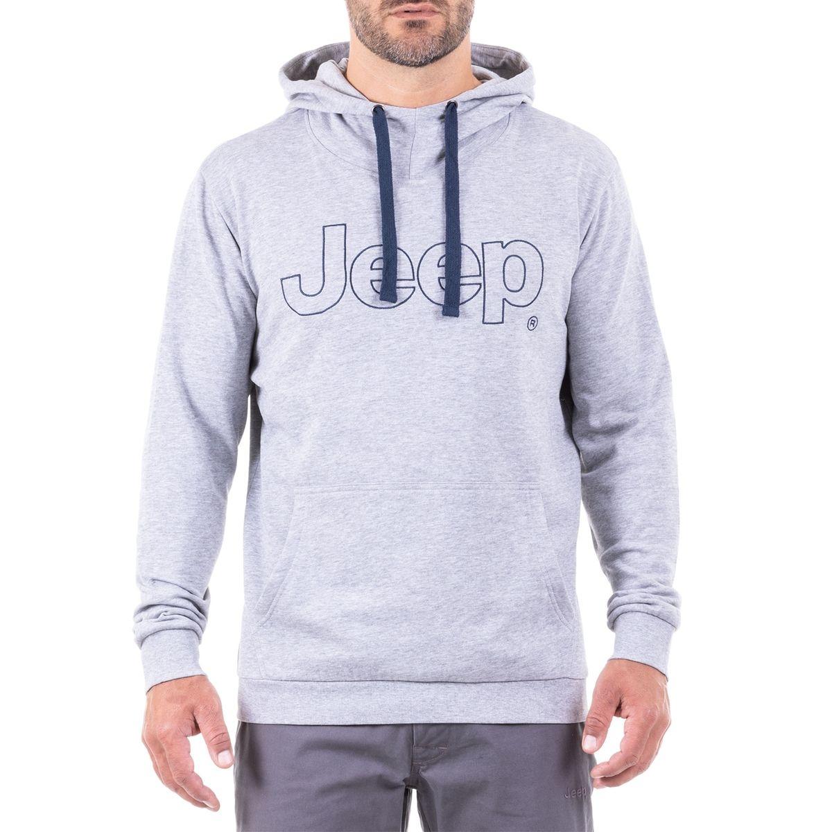 Sweat avec Capuche Jeep Logo Outline J8W