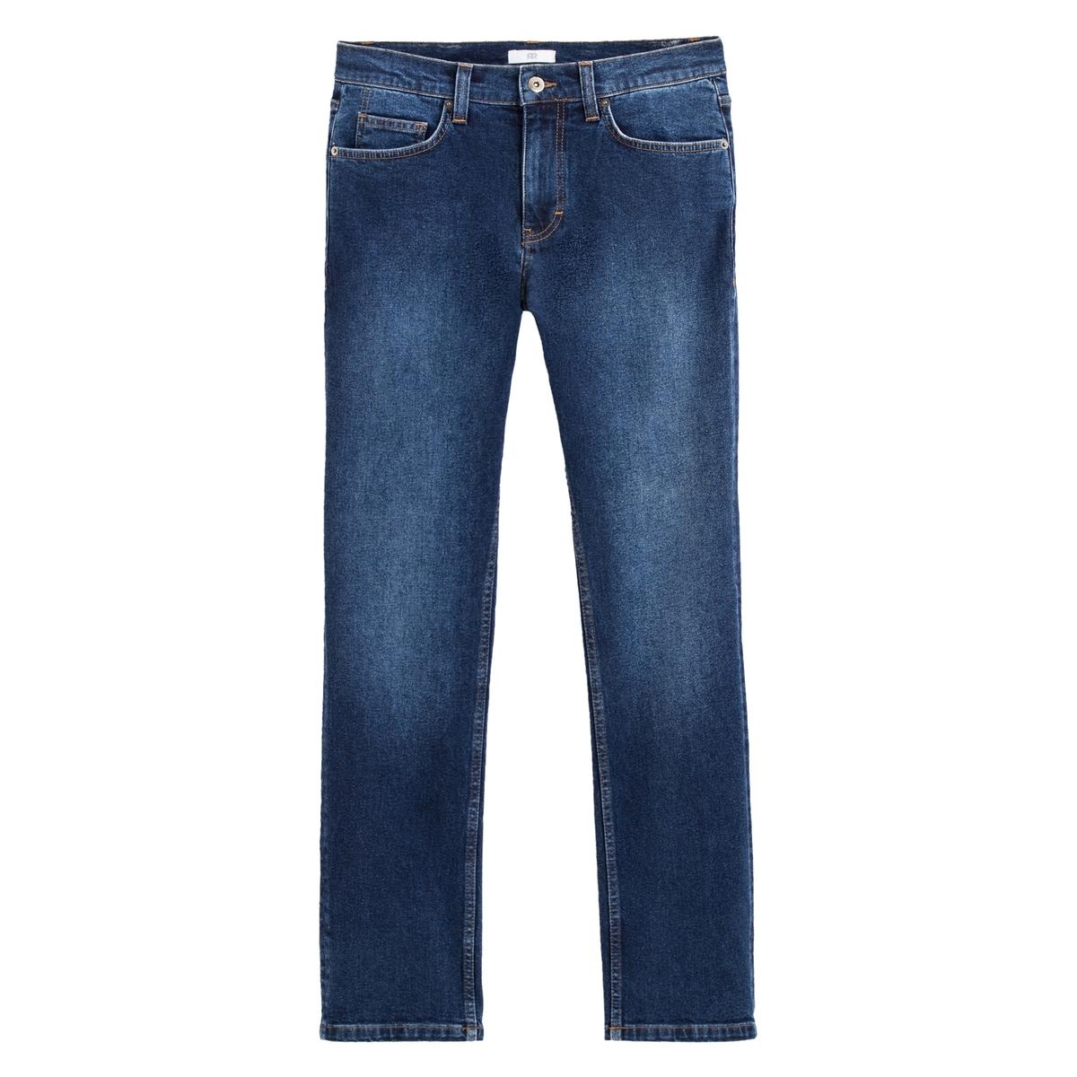 Jeans regular, matéria reciclada