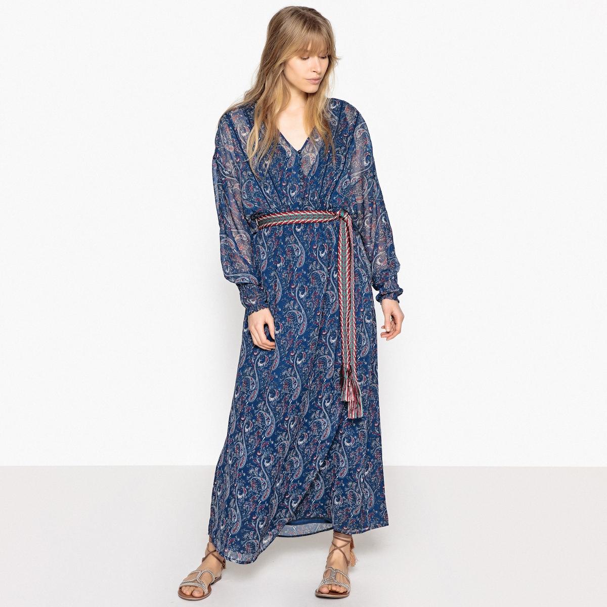 Платье длинное в богемном стиле