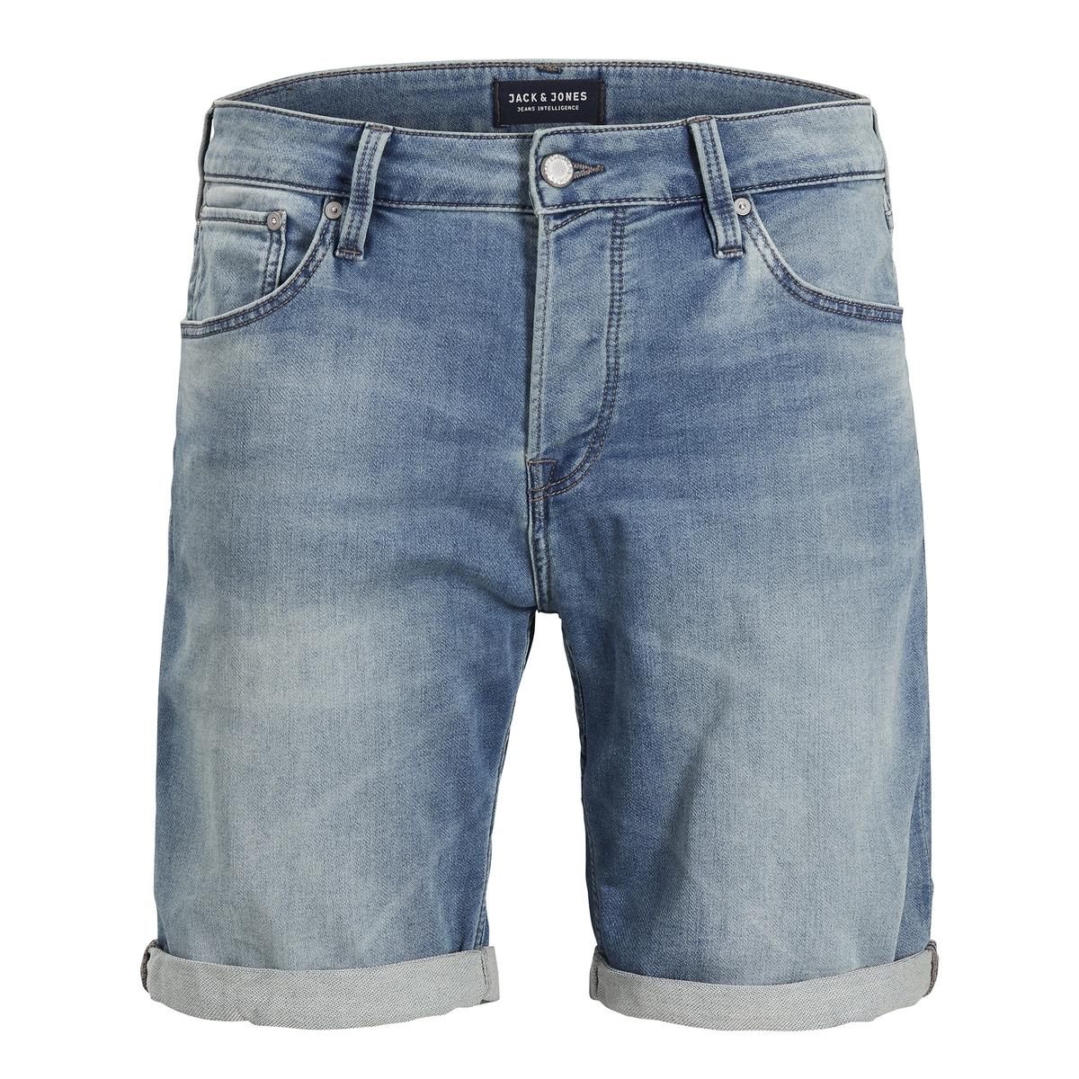Бермуды джинсовые с 5 карманами