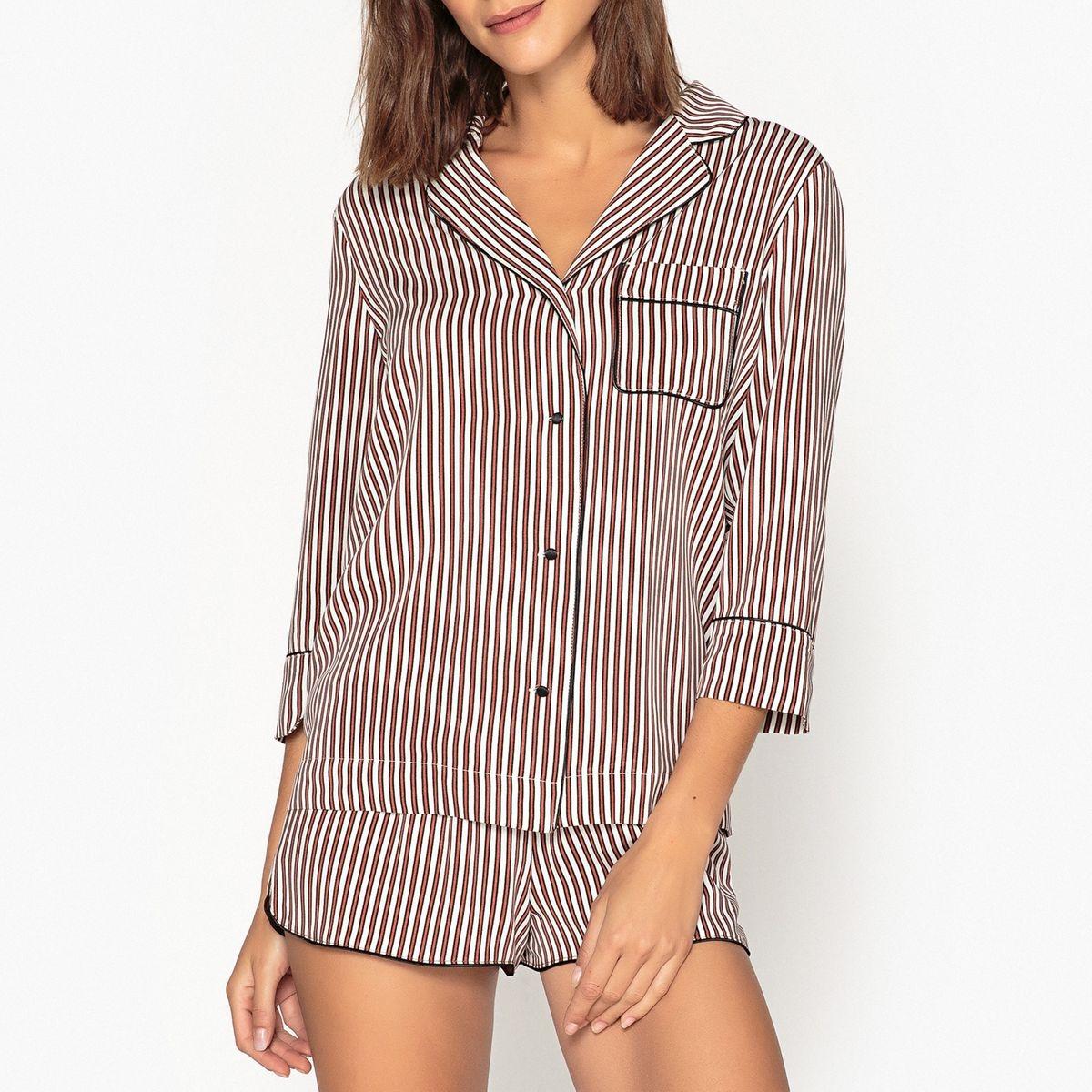 Chemise de pyjama rayée JUDE