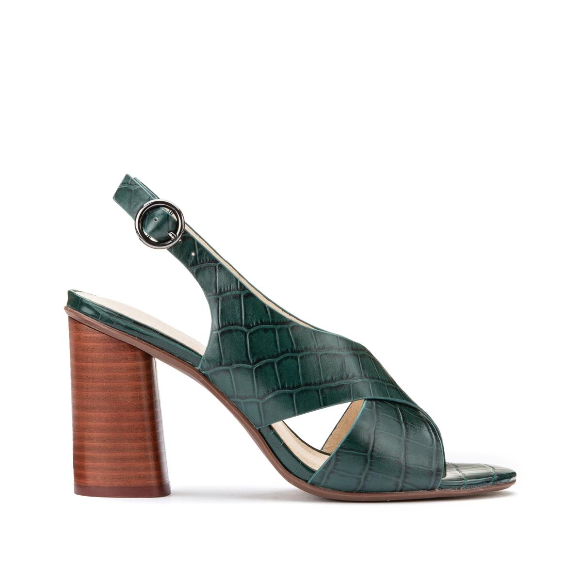Sandalias de piel fantasía