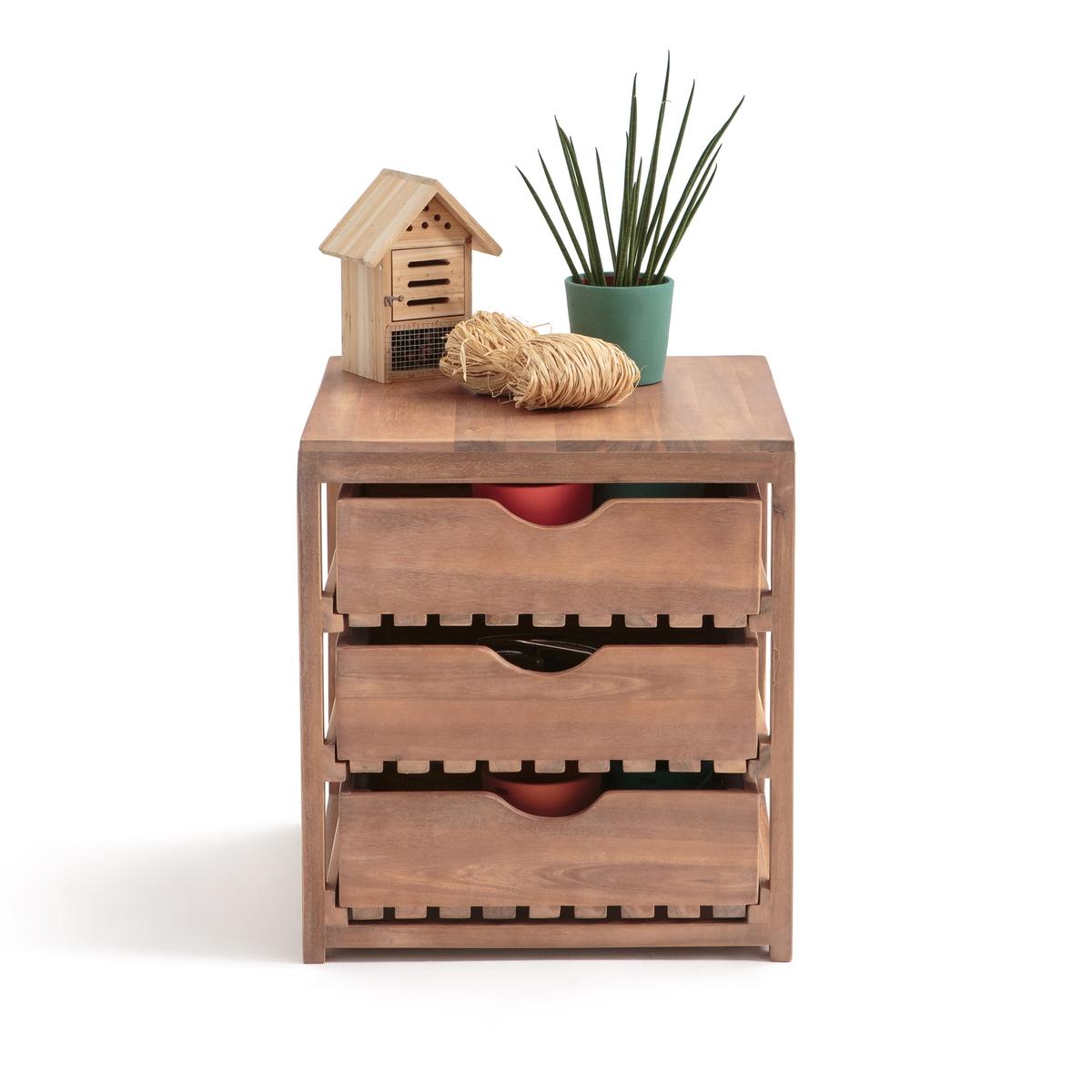 Мебель для хранения вещей на улице из акацииFSC* CALEB стол для сада из акации fsc caleb