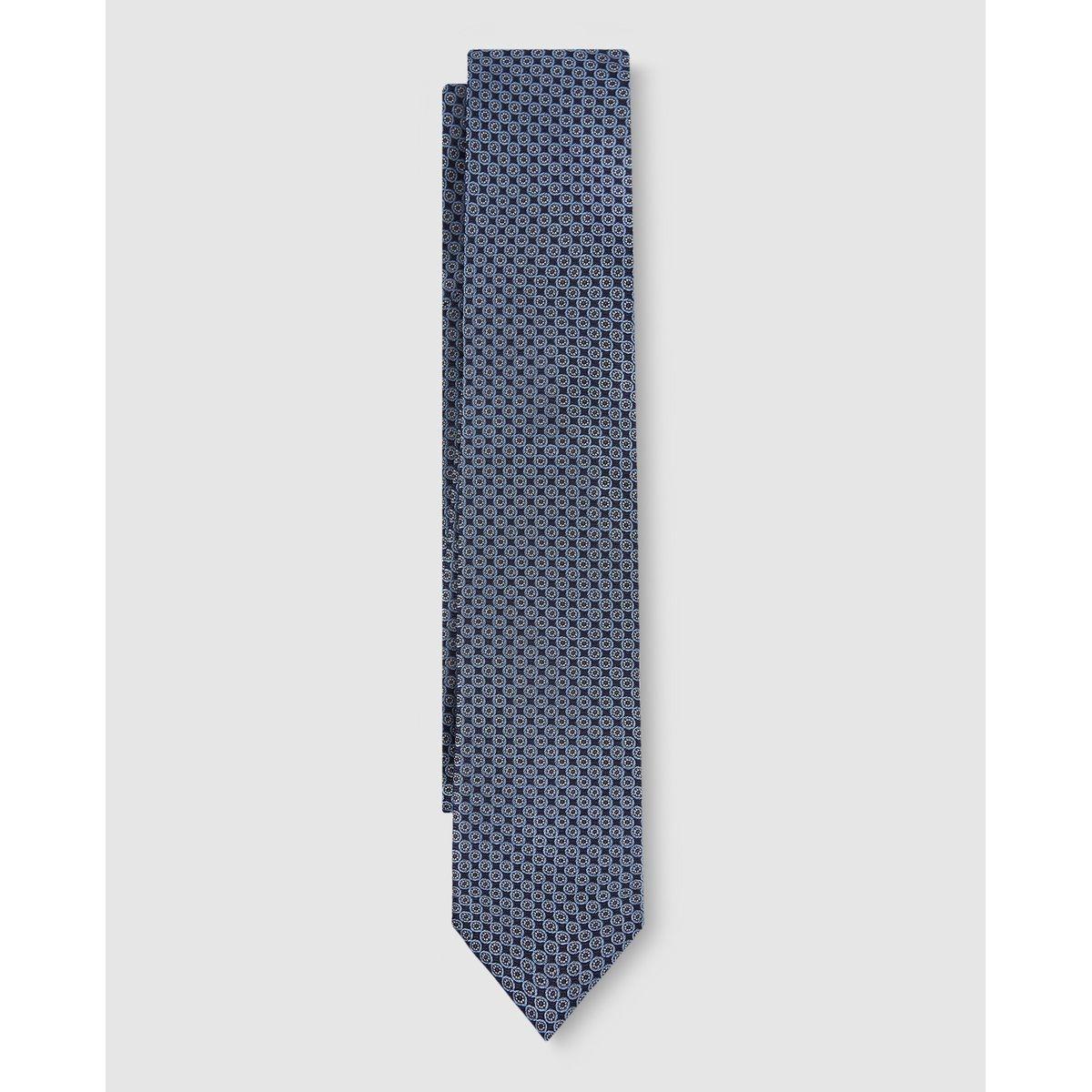 Cravate en soie naturelle imprimé fantaisie