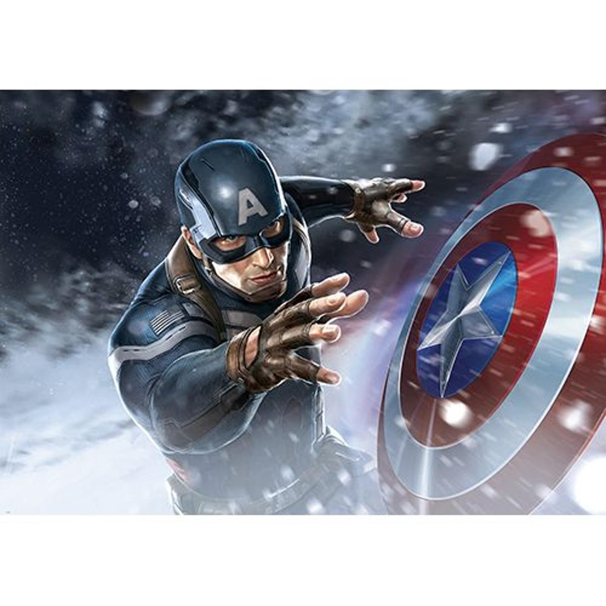 Poster Marvel AVANGERS (HULK, IRON MAN, THOR, CAPTAIN AMERICA, Veuve noire, Oeil-de-Faucon, FALCON) - 368 X 254 CM