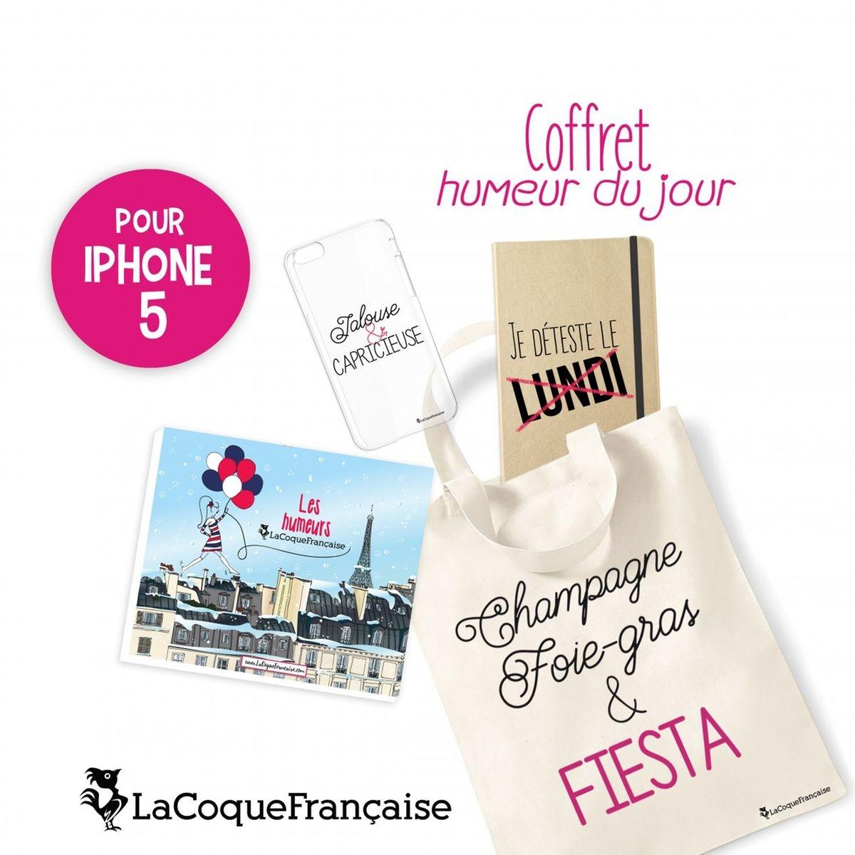 Coque iPhone 5/5S/SE souple, Jalouse et Capricieuse, La Coque Francaise®