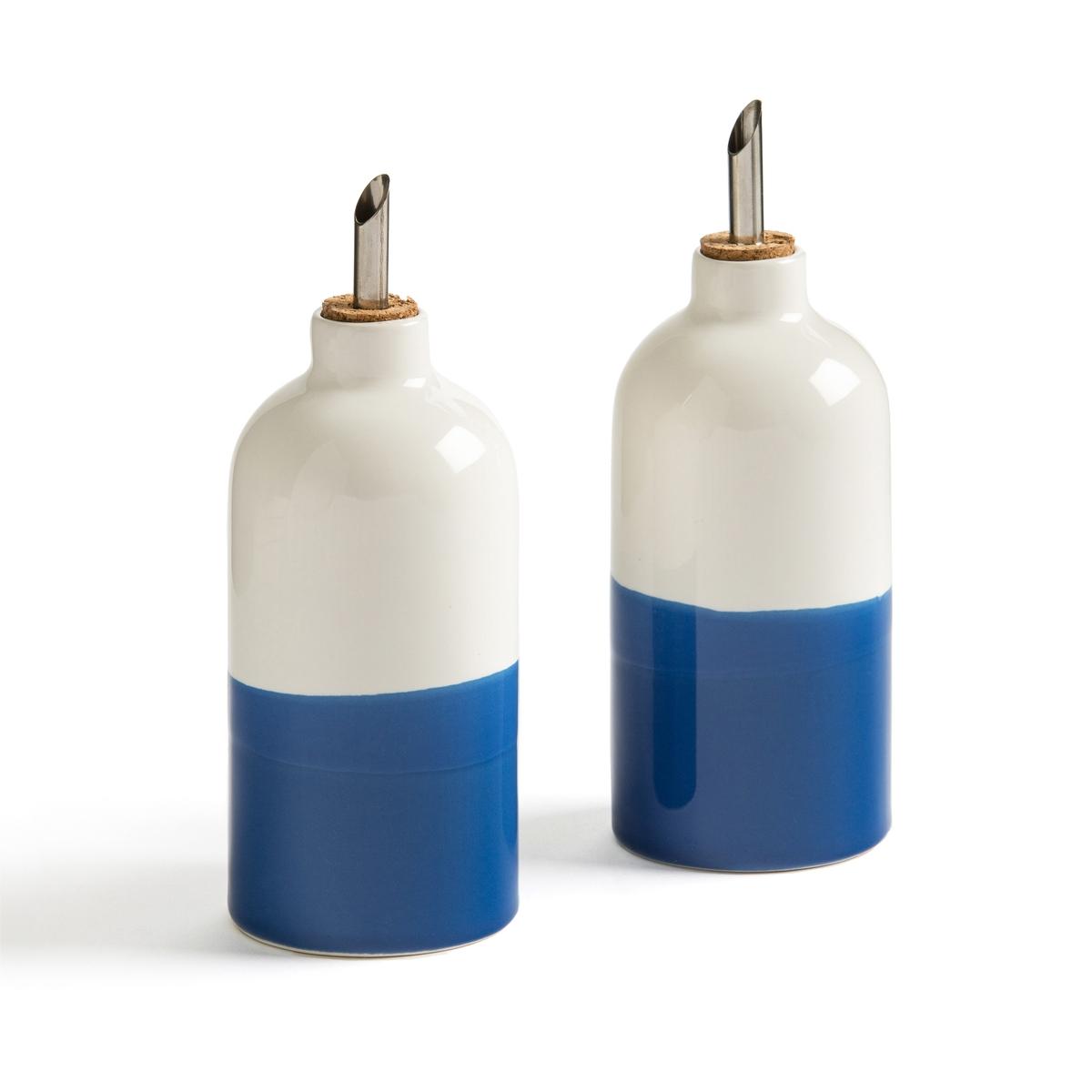 Сосуд La Redoute Для масла и уксуса Zalato единый размер синий стол la redoute журнальный из агата и металла anaximne единый размер синий