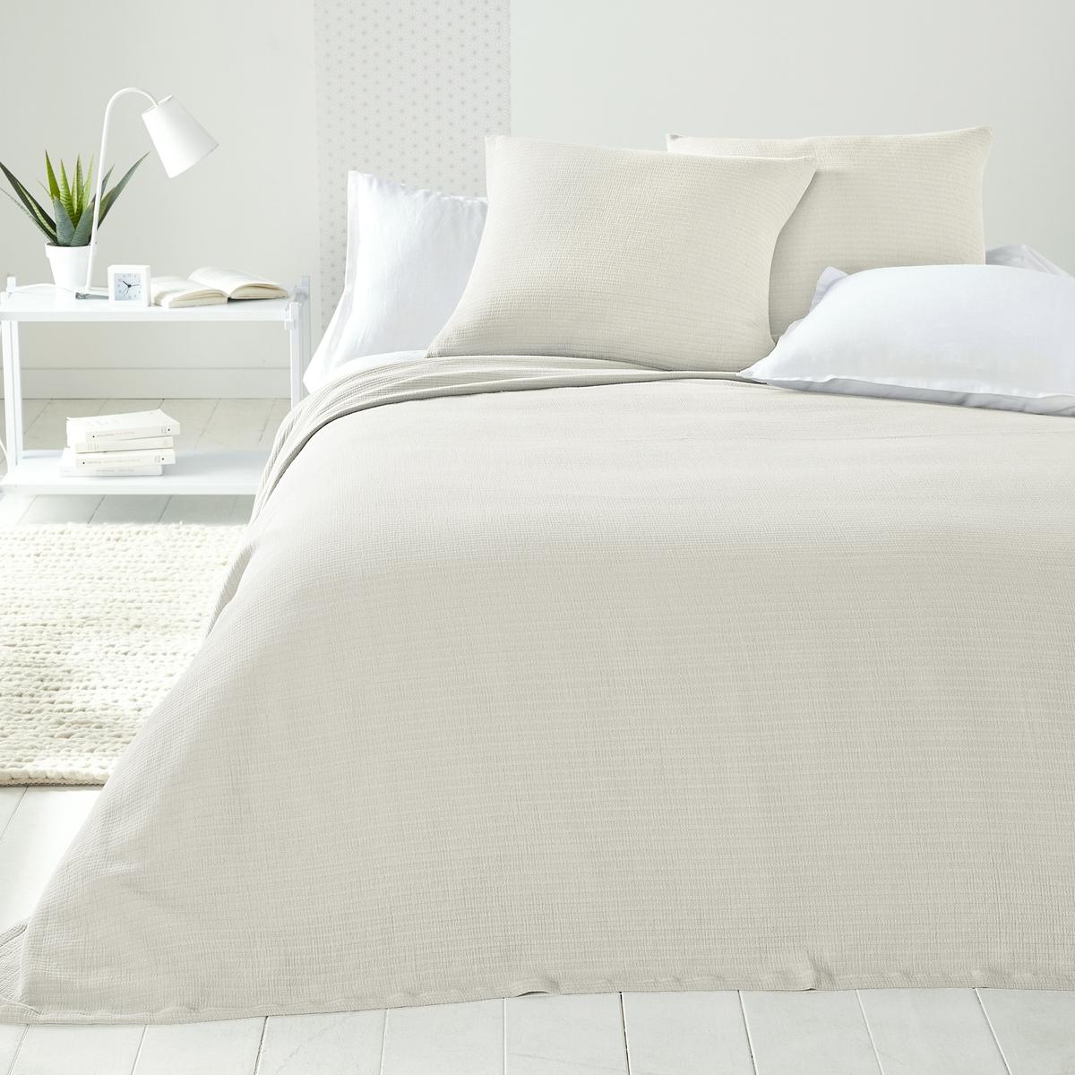 Покрывало для кровати IhlowПокрывало для кровати Ihlow с модным гофрированным эффектом . Характеристики покрывала для кровати Ihlow  :- 100% хлопок.Подшитые края.<br><br>Цвет: белый,желтый горчичный,зеленый,серо-бежевый,серый<br>Размер: 180 x 230  см.180 x 230  см.150 x 150  см.150 x 150  см.230 x 250  см