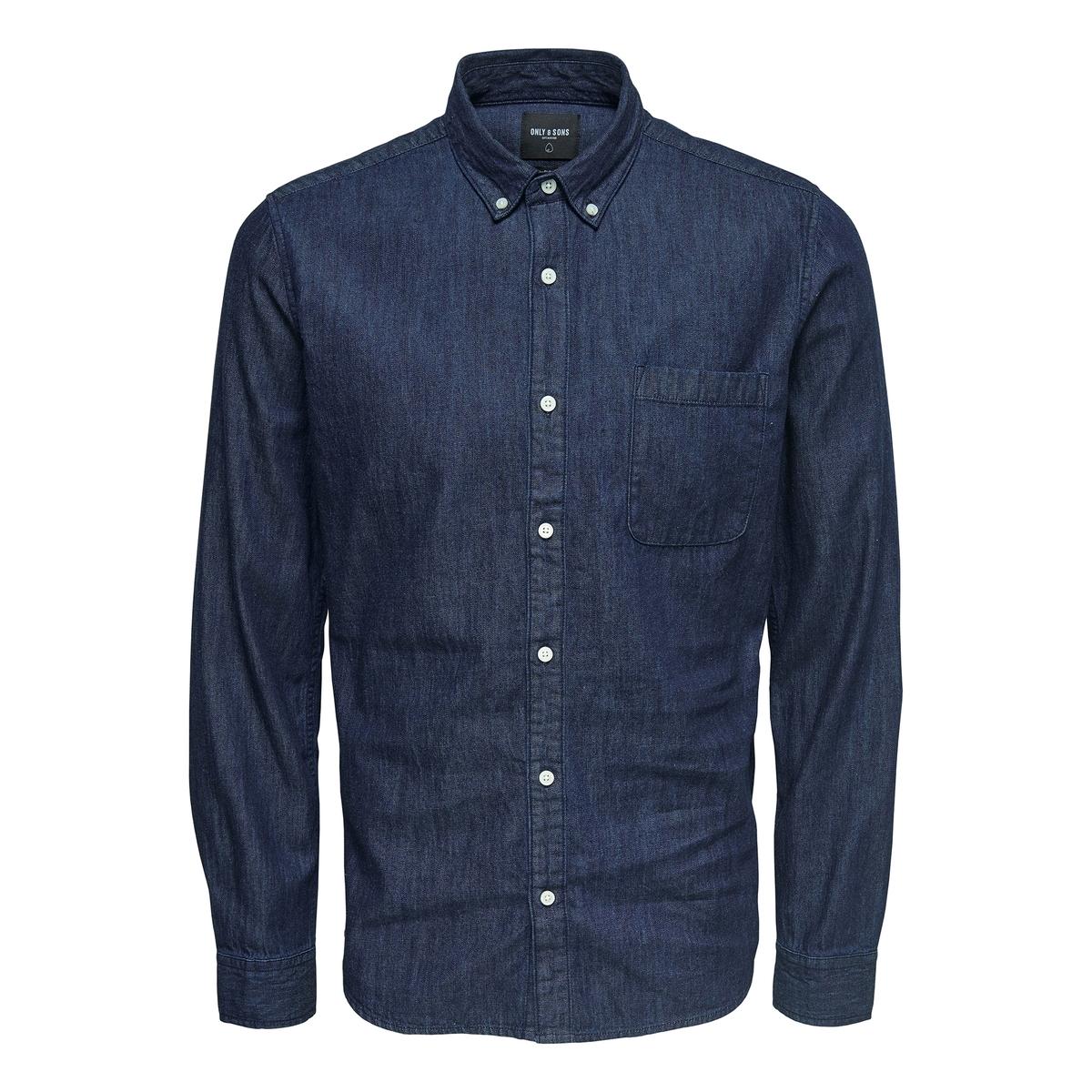 Рубашка прямая с длинными рукавами рубашка marciano guess marciano guess ma087emjns57