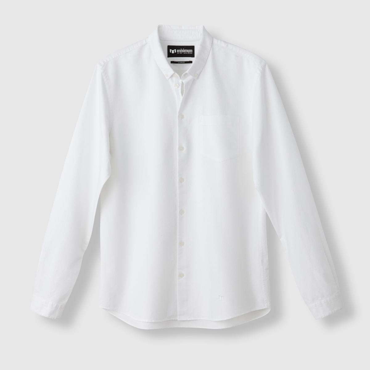Рубашка JayСостав и описаниеМатериал: 100% хлопок.Марка:        MINIMUM.<br><br>Цвет: синий