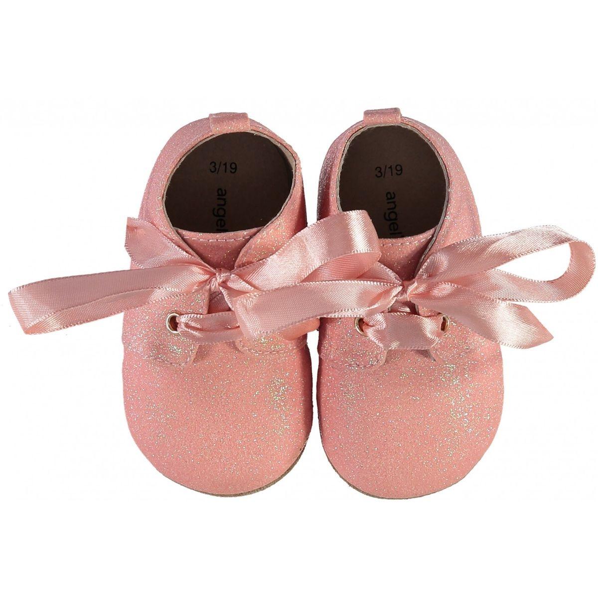 Ballerine  rose à paillettes