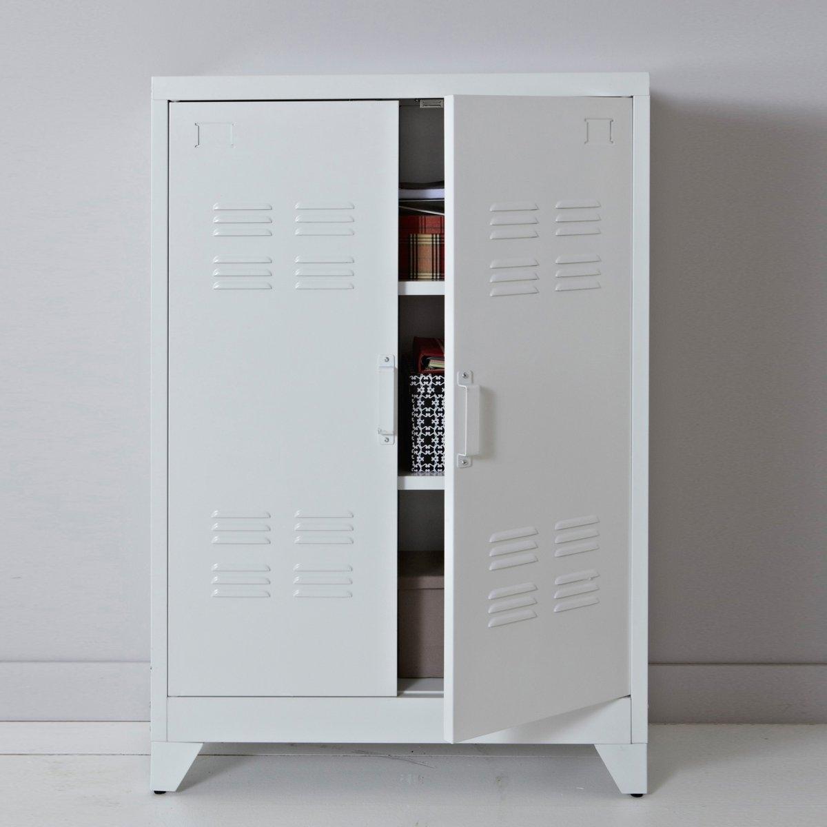 Шкаф вестибюльный из металла Hiba от La Redoute