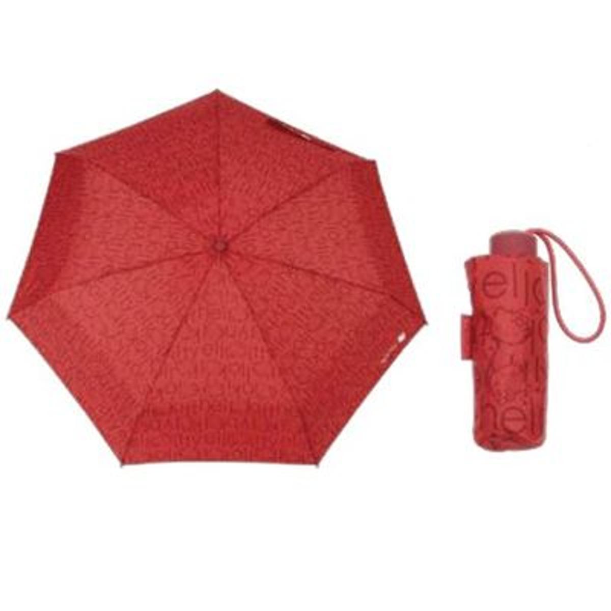 Parapluie Hello Kitty rouge rétractable