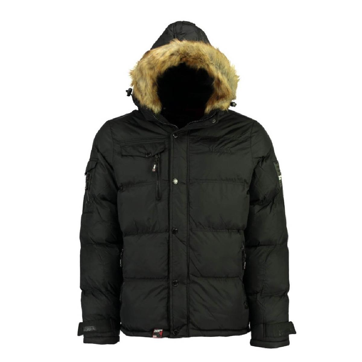 Куртка La Redoute Стеганая утепленная с капюшоном Bonap XL черный пуховая стеганая куртка с капюшоном