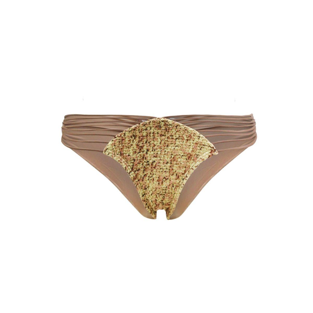 Maillot de bain Tanga Secrets in the Sand Marron